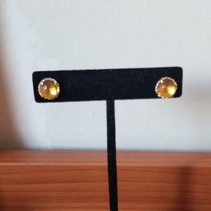 David yurman Citrine Chatelaine stud earrings